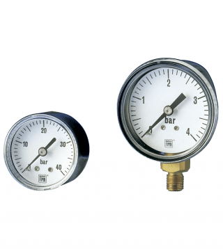 MS1 DN40-50 standard pressure gauges