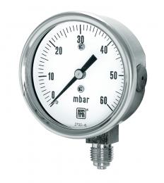 MN9/N DN63 Capusle pressure gauge