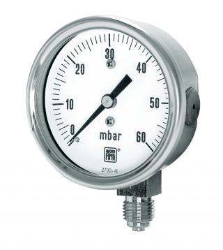 manometri per basse pressioni MN9/N DN63