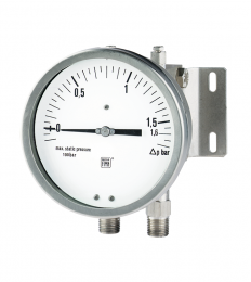Differential pressure gauges PN 100 with double diaphragm MD16 DN 100-150mm