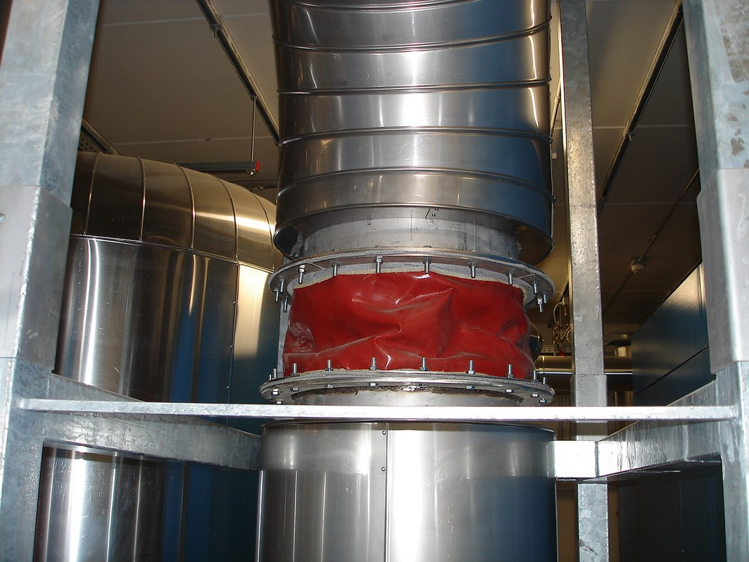 Fabric expansion joints multi-layers for flue gas ducts | ETI