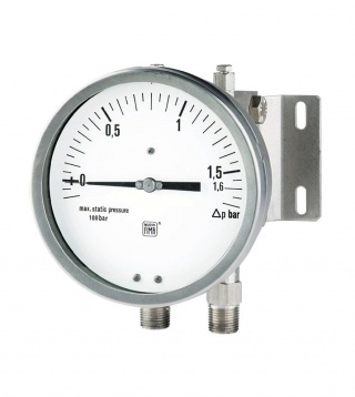 Differential pressure gauges PN100 with single diaphragm MD13 DN150