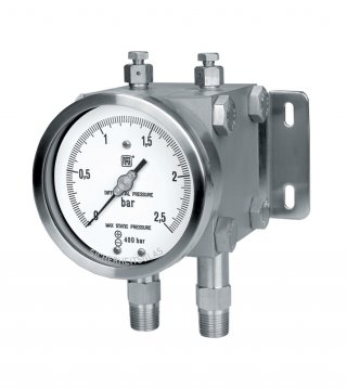 Differential pressure gauges MD17