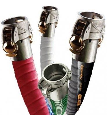 Tubi in gomma per l'industria