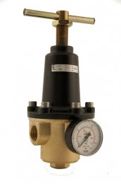 Pressure regulator model R123 in brass