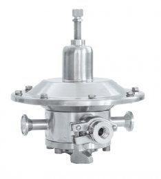 Special executions Tri-Clamp pressure regulator